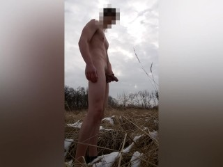 Naked in winter...