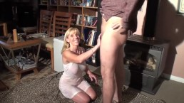 Carol's Husband Fucks Up While Shooting A Piss & CUM Scene! Idiot!