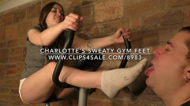 Asian market charlotte - Charlottes sweaty gym feet - dreamgirls in socks