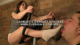 Charlotte's Sweaty Gym Feet - (Dreamgirls in Socks)