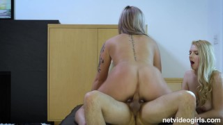 Slutty 21 Year Old With AMAZING Bubble Butt Seduced During An Audition
