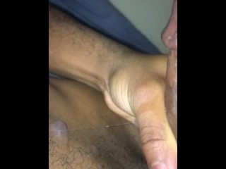 Busting a nut