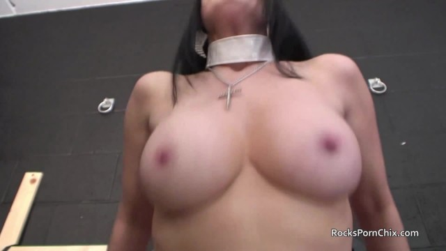 Tanya Cox gets gangbanged in Church with cum on pussy and facials 18