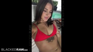 BLACKEDRAW Young wife is now addicted to black bulls Big sucking