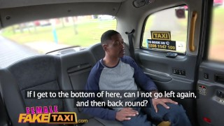 Female Fake Taxi Back seat blowjob from busty blonde driver for lucky stud Angel group