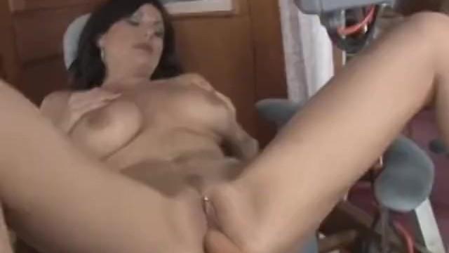 Lola Lynn Rides The Dildo Chair Then Sucks Dick 7