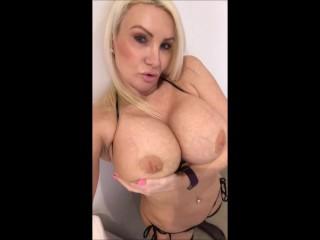 Black Bikini Selfie Masturbation from Twitter @TheSophieJames