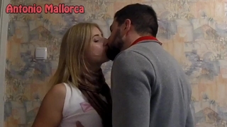 I PICKED UP AN UKRAINIAN GIRL and i KISSED HER PASSIONATELY (ASS GRABBING) Young hairy