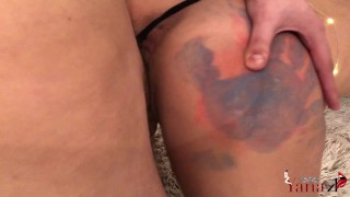 Creampie from painted got best ass fucked behind my and point college