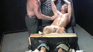 Feet play, massage and tickleing with Collins and Franco Fingering masturbation