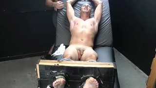 Feet play, massage and tickleing with Collins and Franco