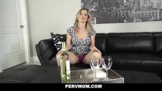 Pervert pervmom boobs step my inspecting moms stepson blonde