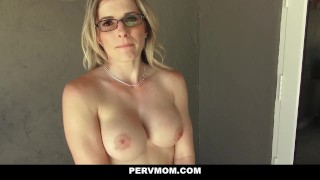 PervMom - Inspecting My Pervert step Moms Boobs porno