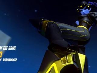 Overwatch Seoul Dynasty Widowmaker 3v3 3 headshots