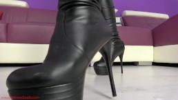 I will crush you under My heels
