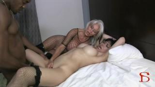 Rose Royal Banged by Mature Lesbian Boss
