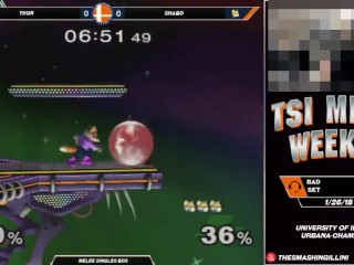 Smash Brothers Thor destroys Leffen