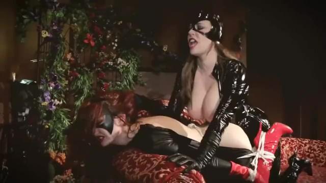 Lesbian superheroine xxx vids Kendra james anastasia pierce: batwoman vs catwoman superheroines