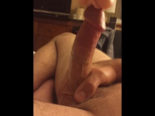 Long teased out orgasm, right on the fucking edge.