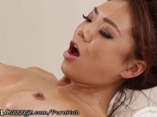 Masseuse Jessa Rhodes Has A Mouthful Of Ayumi Anime