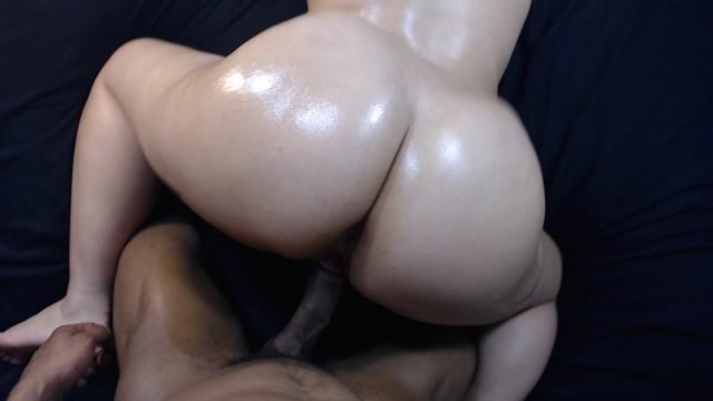 Bubble butt slut white Fucking my boys slut little sister doggy style, cumshot on bubble butt