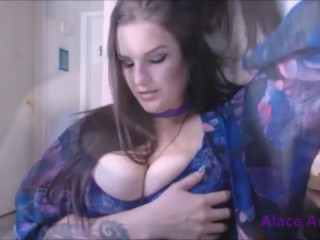 Huge Boob Tease Clip compilation with Alace Amory