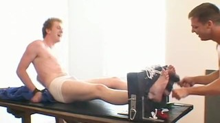 Bryan and Francis enjoy having a kinky foreplay before sex