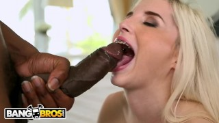 BANGBROS - Petite Teen Piper Perri Takes On The McPipe Heels interracial