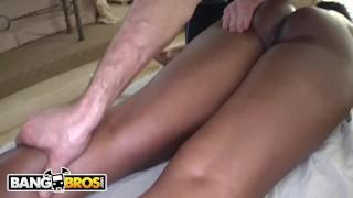 Nyomi massaged big milf tits gets banxxx bangbros her black ebony butt big