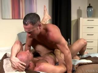 Chlpatý Gay otecko porno