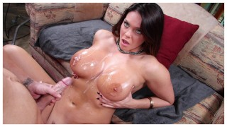 BANGBROS - Pornstar Alison Tyler Shows Off Her Big Tits and Round Ass