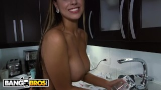 Maid bangbros big in sofia cleaning latina booty apartment my colombia bang latin