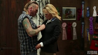 Wicked - Vendetta, Stormy Daniels takes a cock in her ass Riding blacks