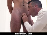 MormonBoyz - Handsome older priest fucks tall hairy boy in the temple