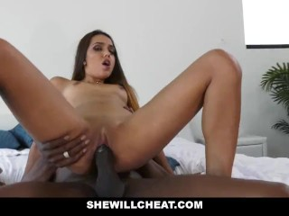 She Will Cheat – Hot Young Wife Fucks BBC While Husband Watches