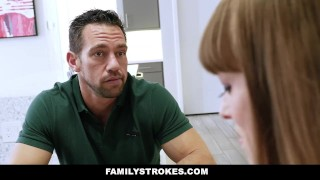 Familystrokes fucked mom daddy's girl sleeps while step step