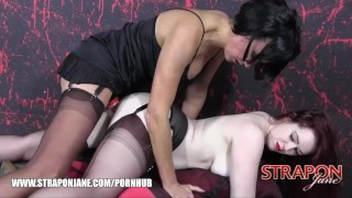 Pussy strapon babes redhead curvy soft jane skinned gorgeous wet pale fucks masturbate lesbian
