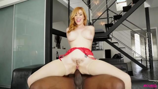 Lauren Philips anally riding big black cock