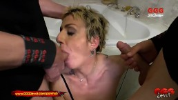 Mature German Mother loves younger cock and Piss - GGGDevot