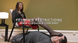 Felicia's Restrictions - (Dreamgirls in Socks)