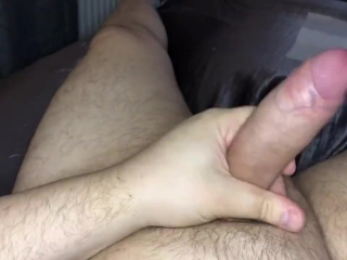 Hot Euro Guy Wanking with Messy Cumshot