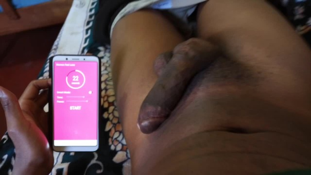 Remote Controlled Butt Plug Vibrating In My Asshole -2177