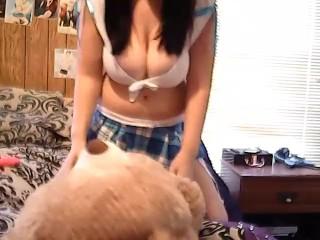 my first teddy bear fuck