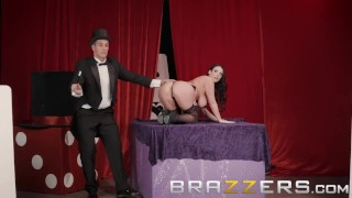 Preview 2 of Brazzers - Angela White's magic ass makes cocks disappear