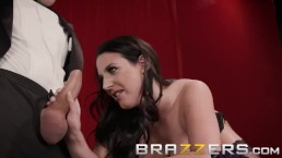 Brazzers - Angela White's magic ass makes cocks disappear