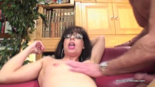 Stepson and Stepfathers rough sex with Tiffany Naylor porno