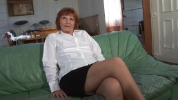 Redhead Grandma Gets Fucked Fisted & Rims Young Stud