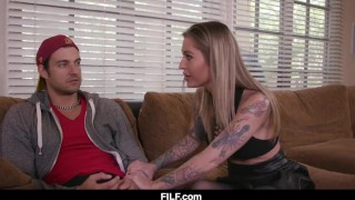 Stepmom Kleio Valentien Teaches Her Stepson How To Fuck A Woman
