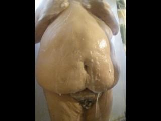 Jay dragon shower washing fat gay chubby