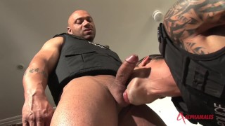 Muscle Coppers - A Policeman Fucked My Son